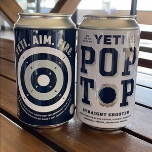 YETI tin can containers